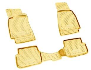 Kummimatid 3D MERCEDES-BENZ B-Class W246 2011->, 4 pcs. /L46001B /beige