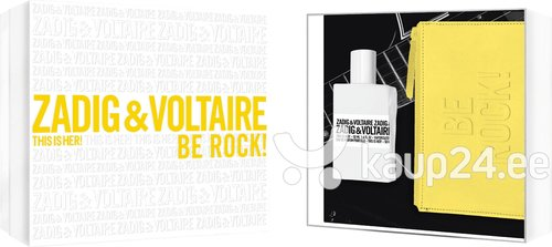 Komplekt Zadig & Voltaire This is Her!: EDP naistele 50 ml + kosmeetika