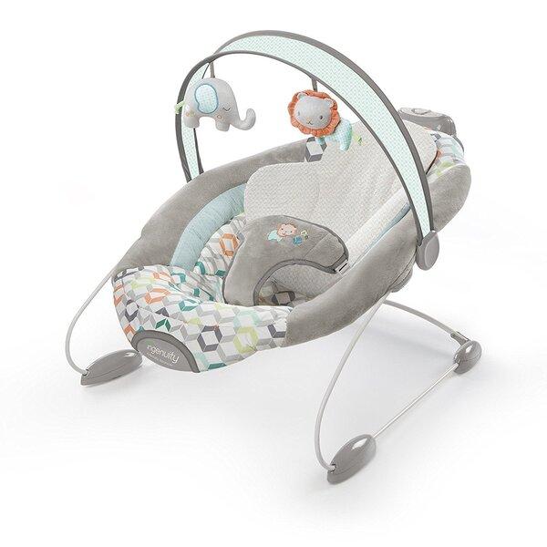 Детское кресло-качалка Bright Starts SmartBounce Automatic Bouncer™ - Candler™