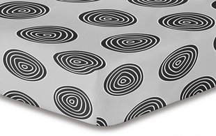 Kummiga voodilina DecoKing Hypnosis Collection Fossil S1, 100x200 cm
