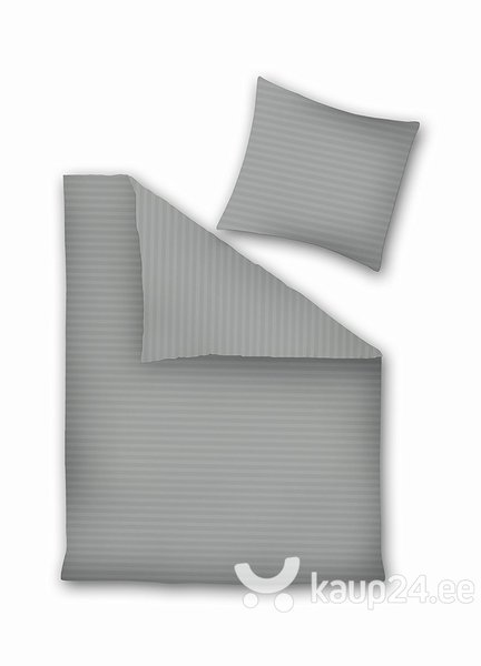 Voodipesukomplekt 3-osaline Prestige Collection Gray Silver, 200x220 cm