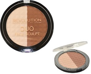 Põsepuna Makeup Revolution London Duo Face Sculpt 15 g hind ja info | Näole | kaup24.ee