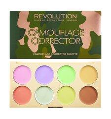 Korrektor palett Makeup Revolution London Camouflage 13 g