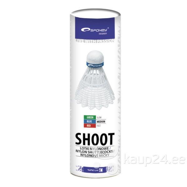 Sulgpalli komplekt Spokey SHOOT, keskmine, 6 tk