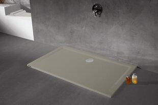 Dušialus Sanplast Space Mineral B-M/Space 75x110x1,5, mittelibiseva pinnaga, värv hall asfalt
