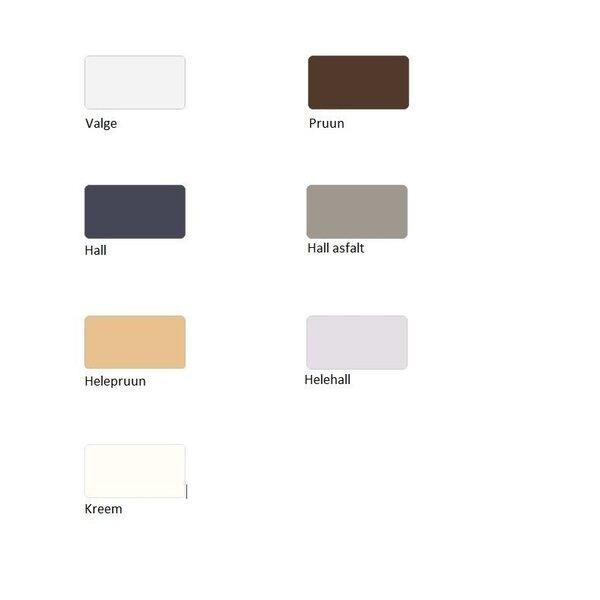 Dušialus Sanplast Space Mineral B-M/Space 90x110x1,5 värv valge tagasiside