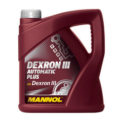 MANNOL Dexron III Automaatne Plus, 4L цена и информация | MANNOL Dexron III Automaatne Plus, 4L | kaup24.ee