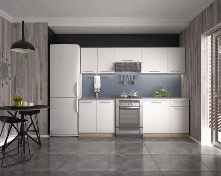 Köögimööbli komplekt Daria, valge