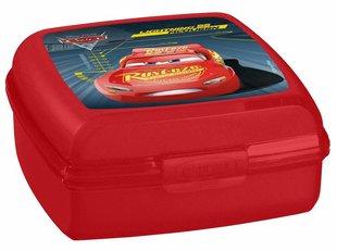 Laste karp Curver Multisnap Cars 0,9 l, punane