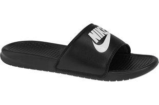 Meeste plätud Nike Benassi JDI 343880-090, must/valge