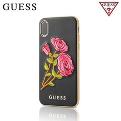 Guess Flower Desire tagus telefonile Apple iPhone X / iPhone 10, must