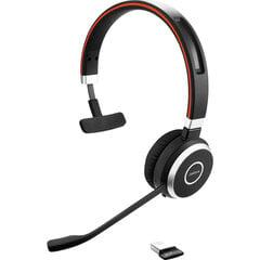 Juhtmeta kõrvaklapid Jabra Evolve 65 UC mono, Bluetooth 4.0