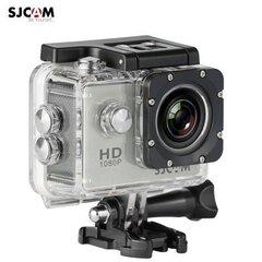 Seikluskaamera SJCAM SJ4000, hõbedane