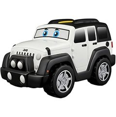 Laste mänguauto BB Junior Jeep Touch & Go 16-81801, valge