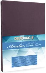 Kummiga voodilina DecoKing Jersey Amelia Collection, 120x200 cm, pruun