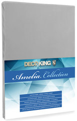 Kummiga voodilina DecoKing Jersey Amelia Collection, 80x200 cm, hall hind ja info | Voodilinad | kaup24.ee