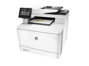 Laserprinter HP Color LaserJet Pro MFP M477fnw