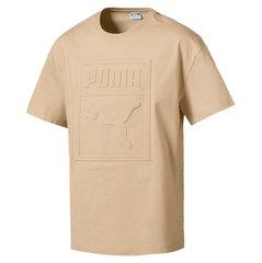 Meeste T-särk Puma Archive Embossed, helepruun