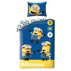 Laste voodipesukomplekt Minions, 2-osaline