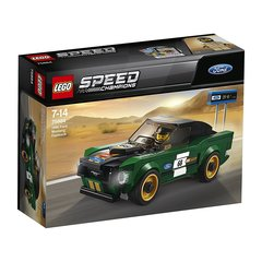 75884 LEGO® Speed Champions 1968 aasta Ford Mustang Fastback