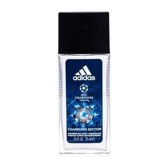 Spreideodorant Adidas UEFA Champions League Champions Edition meestele 75 ml