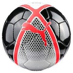 Jalgpalli treeningpall Puma White-Red Blast-Puma, 4 suurust
