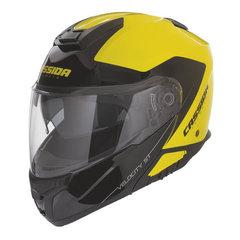 Moodul mootorratta kiiver Cassida Velocity ST Yellow Fluorescent/Black