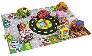 Mängumatt K's Kids 9 autoga hind ja info | Mängumatt K's Kids 9 autoga | kaup24.ee