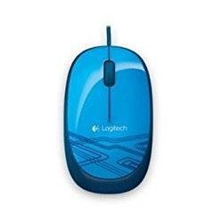 Logitech Mouse M105 Blue - WER Occident Packaging, USB