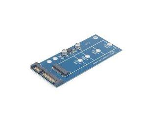 Gembird - Adapter mini SATA -> M.2 NGFF 1.8'' hind ja info | USB jagajad, adapterid | kaup24.ee