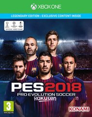Mäng Pro Evolution Soccer PES 2018 - Legendary Edition (Xbox One)