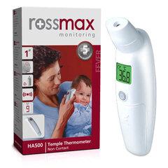 Infrapuna termomeeter kontaktivaba Rossmax HA500 hind ja info | Termomeetrid | kaup24.ee