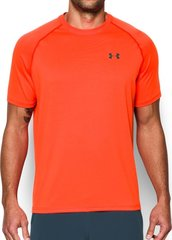 Meeste T-särk Under Armour Heatgear Run S/S 1289681-296, oranž