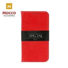 Kaitseümbris-alus Mocco Special Leather sobib Samsung A530 Galaxy A8 (2018), punane