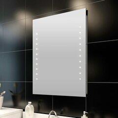 Tuledega peegel vannituppa 60 x 80 cm hind ja info | Peeglid | kaup24.ee