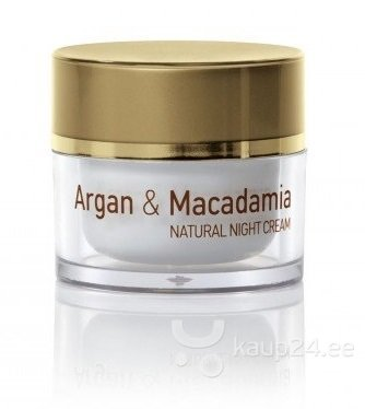Öökreem Natural Cosmetic Argan & Macadamia 50 ml