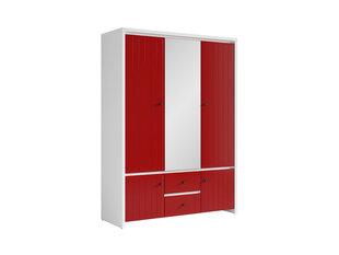 Шкаф Karet 5D, красный