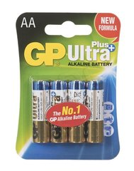 Alcaline battery GP Batteries 15AUP-U4 AA | LR6 | 1.5V | ULTRA+ ALKALINE | blist