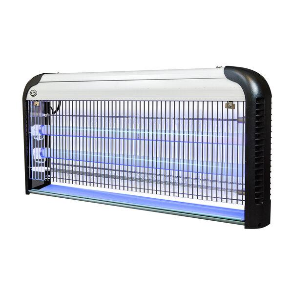 Лампа против комаров Sanico IK206-2 x 20 W 43 W 2-UVAT8, серебристо-чёрный