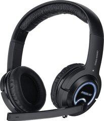 Juhtmega kõrvaklapid Speedlink Xanthos (SL-4475-BK) mikrofoniga hind ja info | Juhtmega kõrvaklapid Speedlink Xanthos (SL-4475-BK) mikrofoniga | kaup24.ee