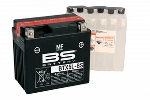 Aku BS-Battery BTX5L-BS 12V 4Ah
