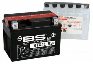 Aku BS-Battery BTX4L-BS 12V 4.2Ah цена и информация | Аккумуляторы | kaup24.ee