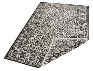 Vaip Bougari Twin Curacao Black Cream, 80x250 cm