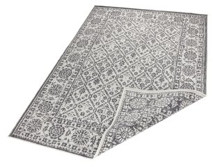 Vaip Bougari Twin Curacao Grey Cream, 80x250 cm