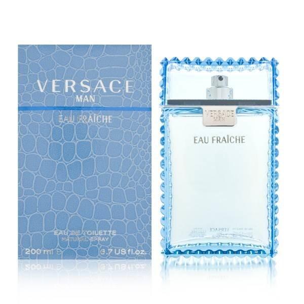 Tualettvesi Versace Man Eau Fraiche EDT meestele 200 ml