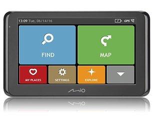 GPS seade MIO SPIRIT 8500, Euroopa hind ja info | GPS seadmed | kaup24.ee