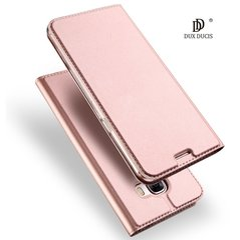 Klapiga kaitseümbris Dux Ducis Premium Magnet Case, sobib Samsung G965 Galaxy S9 Plus, roosa