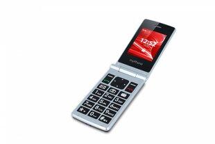 Mobiiltelefon MyPhone Tango, Dual SIM, hõbedane/must hind ja info | Mobiiltelefonid | kaup24.ee