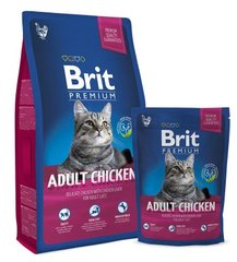 Brit Premium Cat Adult с курицей, 1,5 кг цена и информация | Brit Premium Cat Adult с курицей, 1,5 кг | kaup24.ee