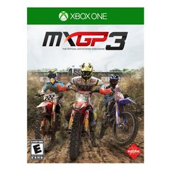Mäng MXGP 3, The Official Motocross Videogame, Xbox One